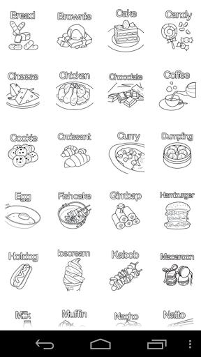 Kids Coloring : Food
