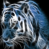 Neon Tiger Live Wallpaper