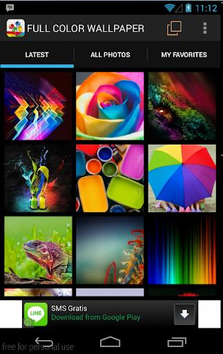 Full Color Wallpaper