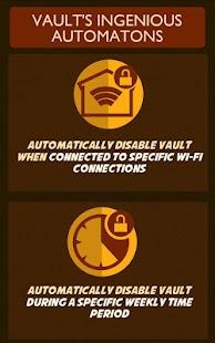 Vault App Locker Lockscreen