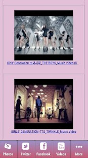 Girls Generation Videos & Pics - screenshot thumbnail