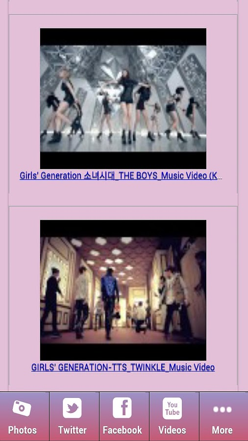 Girls Generation Videos & Pics - screenshot