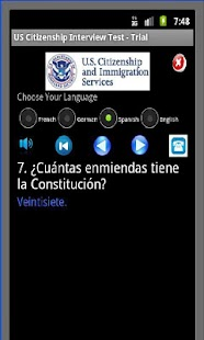 US Citizenship Test - Full Ver - screenshot thumbnail