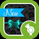 Lace & Teal Go Locker Theme icon