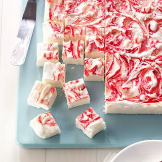 Peppermint Swirl Fudge