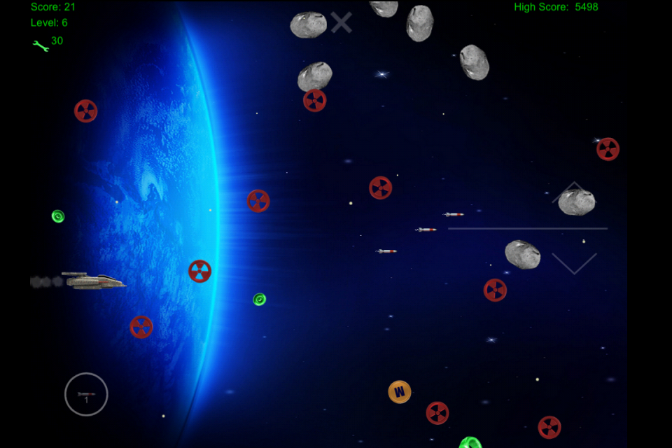 Space Junk Hunter - screenshot