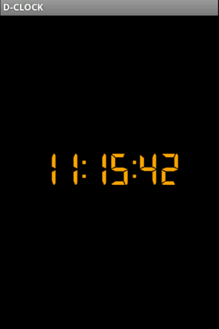 D-CLOCK - screenshot