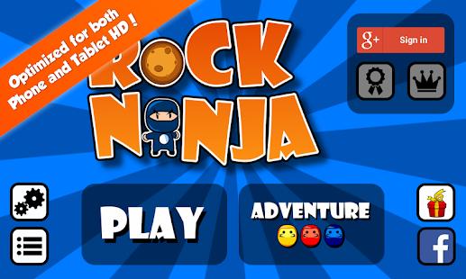 Rock Ninja- screenshot thumbnail