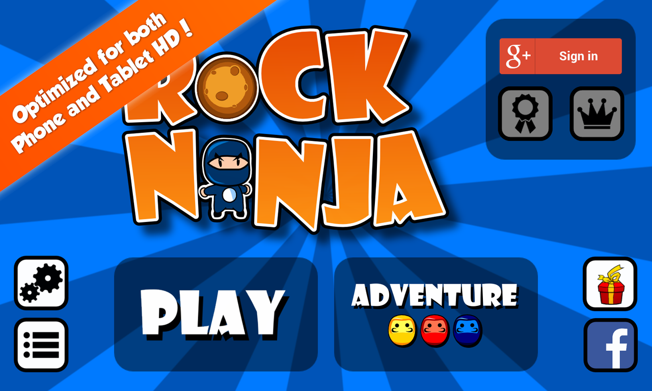 Rock Ninja- screenshot