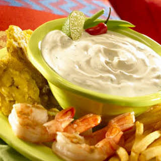 Creamy Chipotle Lime Dip.