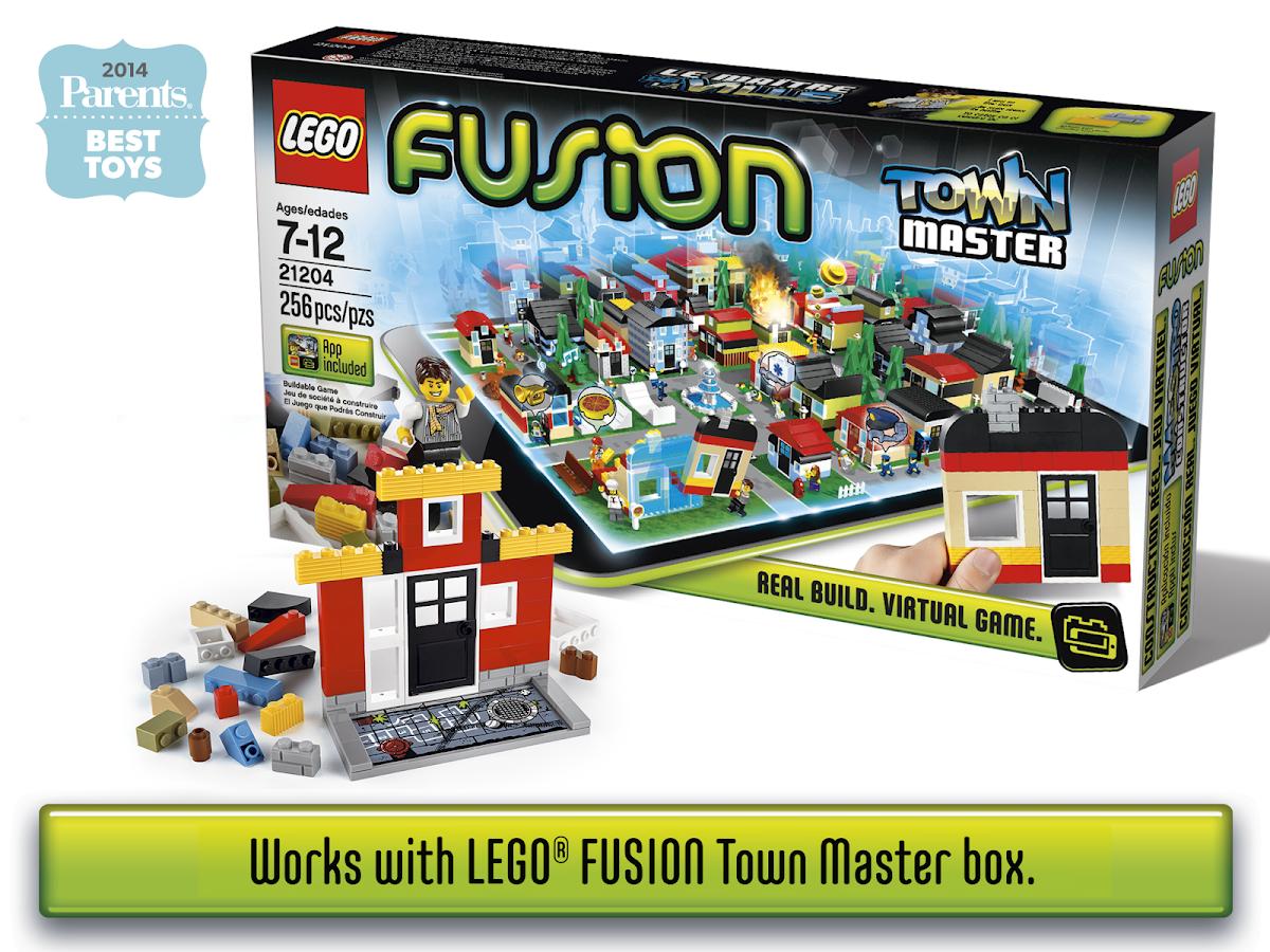 LEGO® FUSION Town Master- screenshot