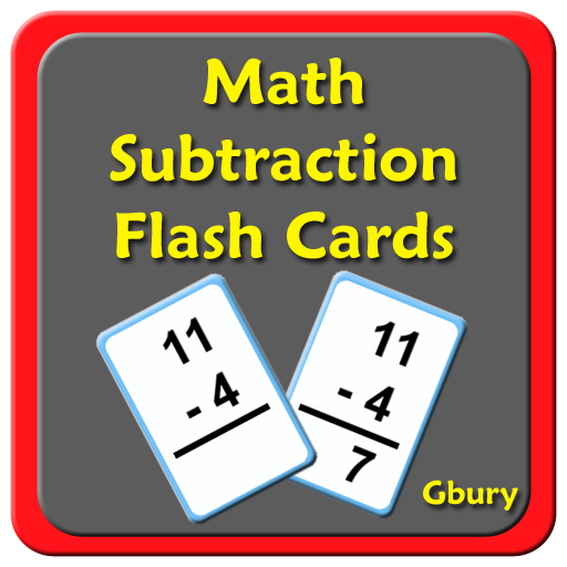math subtraction flash cards app app. Black Bedroom Furniture Sets. Home Design Ideas