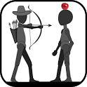 StickMan Apple Shooter icon
