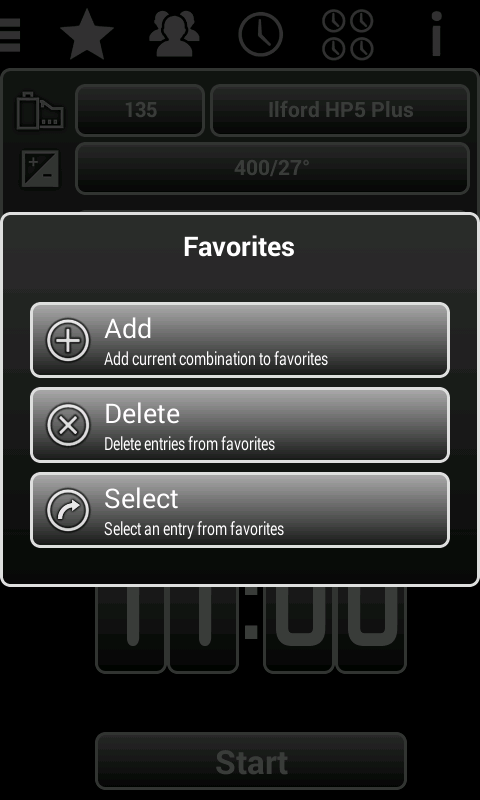 Film Developer Pro - screenshot