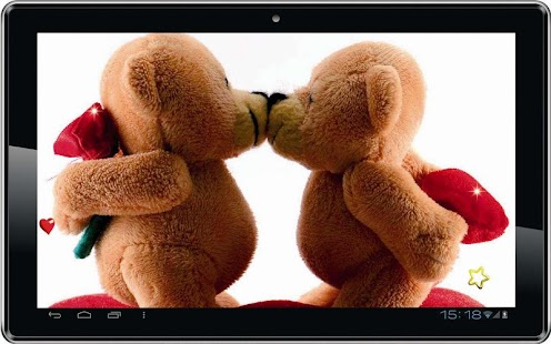 Love Bears HD live wallpaper