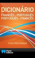 Screenshot of Dicionário Francês-Português