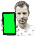 Mobile Green Screen Video Tool icon