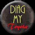 Diag My Toyota logo