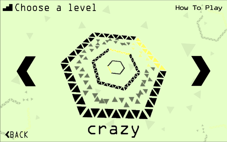 Crazy Hexagon - screenshot