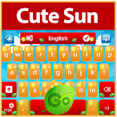 GO Keyboard Cute Sun
