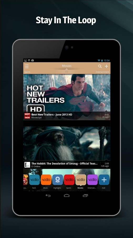Vodio: Watch Videos, TV & News - screenshot