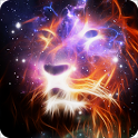 Galaxy Lion LWP Magic Effect icon