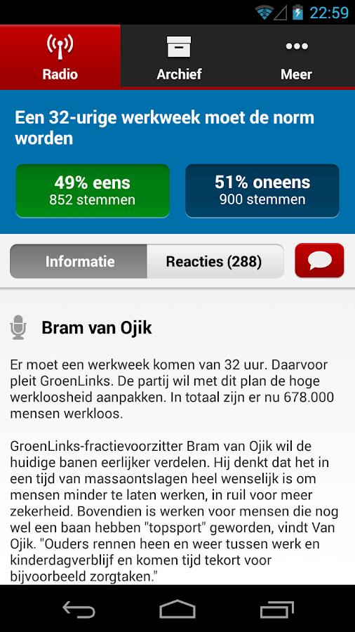Stand.NL- screenshot
