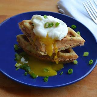 Ham & Chive Waffles
