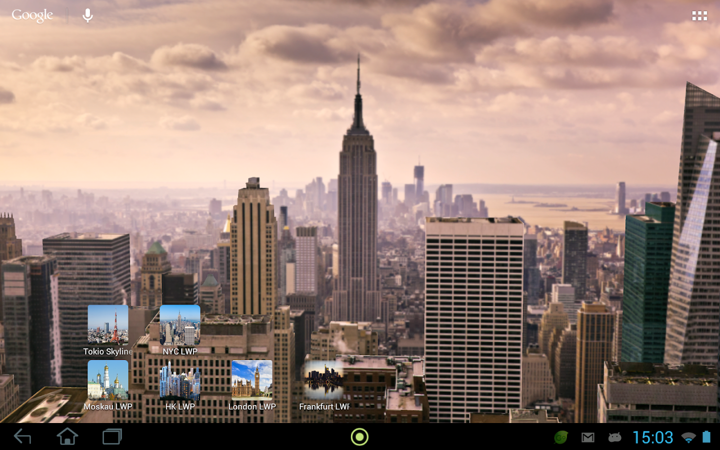 3d new york live wallpaper android apps on google play