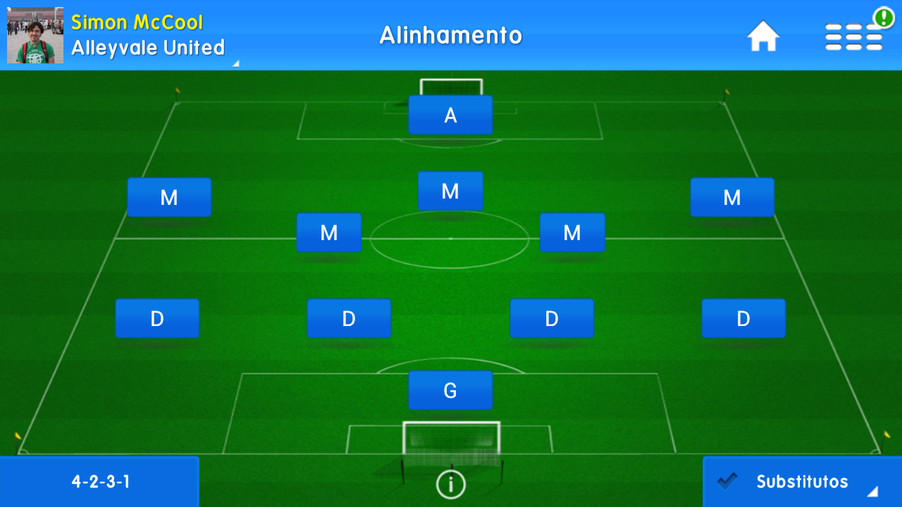 Online Soccer Manager (OSM) - screenshot
