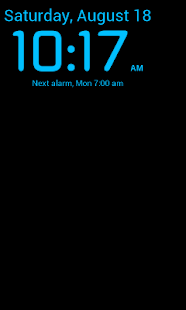 WakeVoice Trial alarm clock - screenshot thumbnail