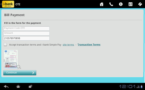 i-bank Simple Pay- screenshot thumbnail