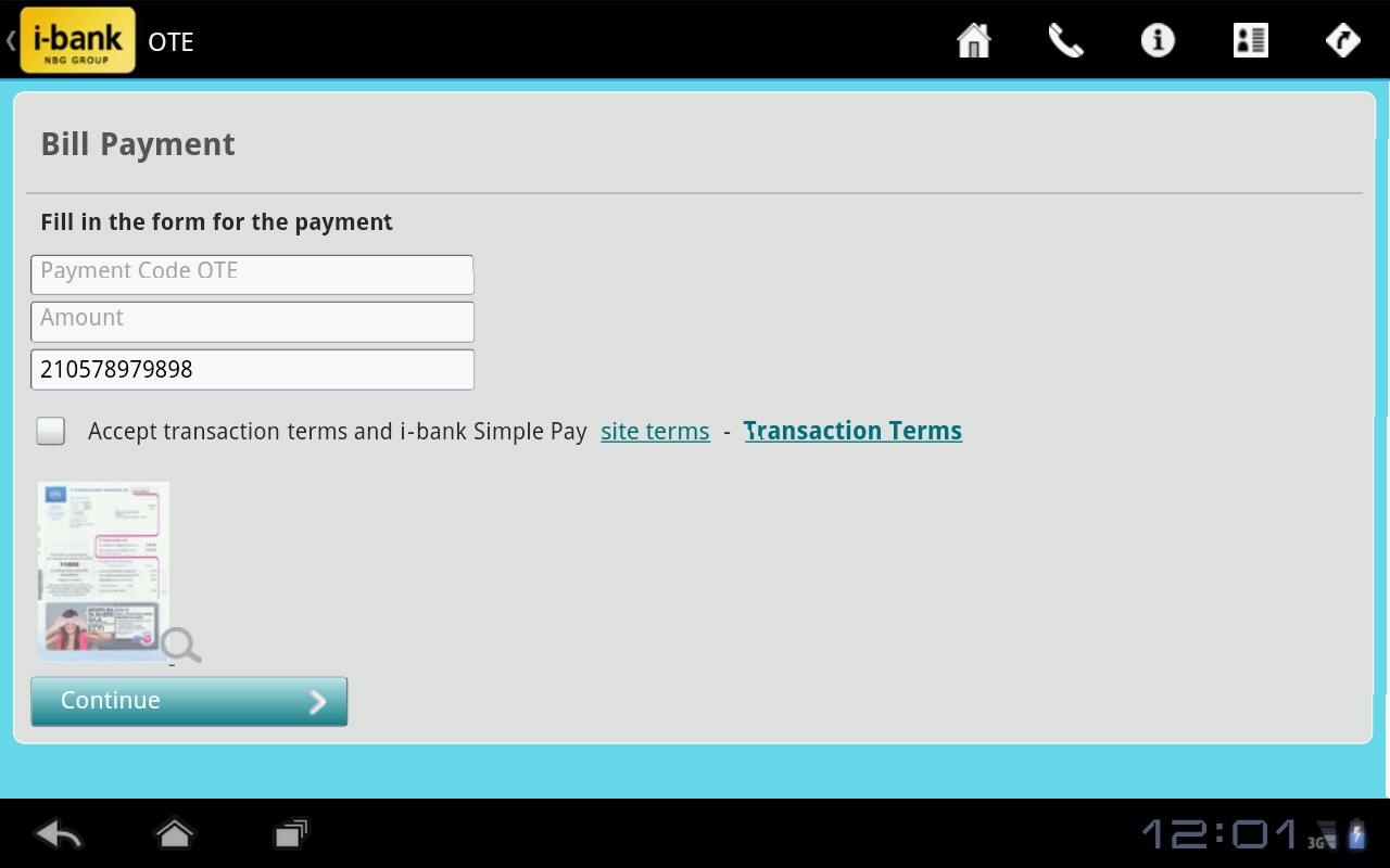 i-bank Simple Pay- screenshot