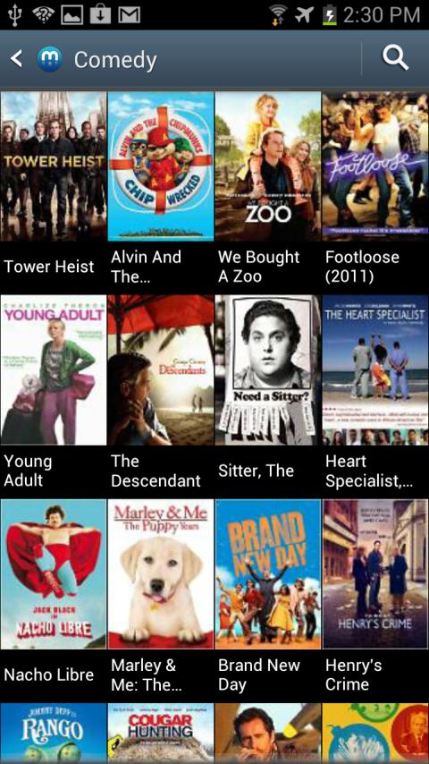 Media Hub –Samsung T-Mobile 4G - screenshot