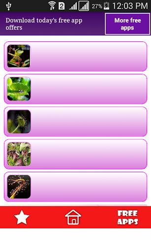 صور نباتات وزهور مفترسة