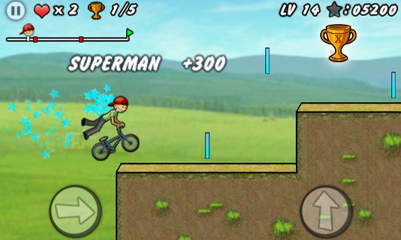 Bike Games For Boys Only BMX Boy screenshot