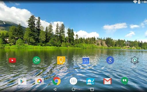 Panorama Wallpaper: Lakes