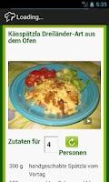 Screenshot of D3H Sindelfingen Rezepte