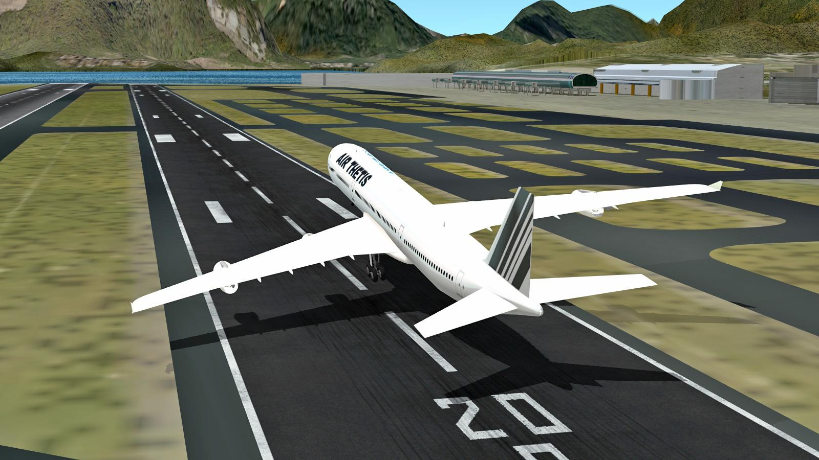 ✈️ Flight Simulator Rio 2013 Free 🛩🛫🛬- screenshot