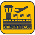 Airport Flags - bandiere quiz icon