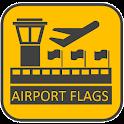 Airport Flags banderas quiz icon
