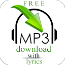 Download MP3 Songs with Lyrics mobile app icon