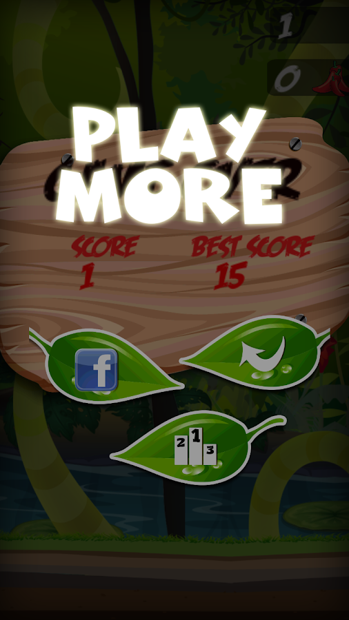 The flappy happy parrot- screenshot