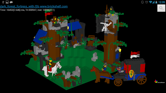 Buf3D lego and 3d model viewer - screenshot thumbnail