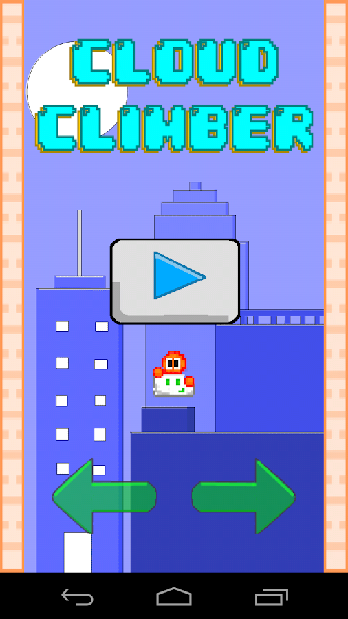 Cloud Climber- screenshot