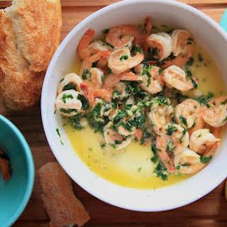 Sautéed Shrimp with Lemon, Garlic & Parsley.