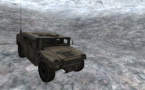 Army 4x4 Snow Driving 3D