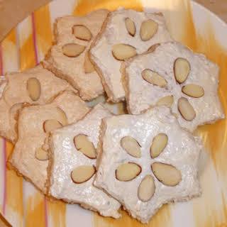 German Holiday Cinnamon Star Cookies.