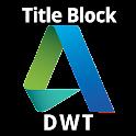 kApp AutoCAD Title Block DWT