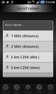 C25K Running AccuTrainer - screenshot thumbnail